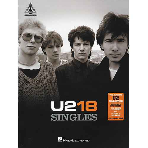 Hal Leonard U2 18 Singles Guitar Tab Songbook-thumbnail
