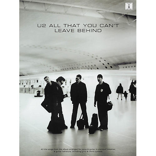 Hal Leonard U2 All That You Can't Leave Behind Guitar Tab Songbook-thumbnail