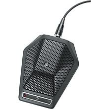 Audio-Technica U891RC UniPoint Cardioid Condenser Boundary Microphone with Local or Remote Switching
