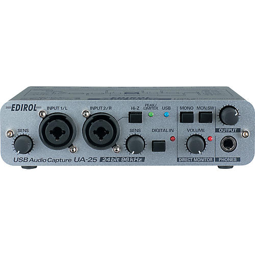 Edirol UA-25 USB Bus Powered Stereo Audio Interface-thumbnail