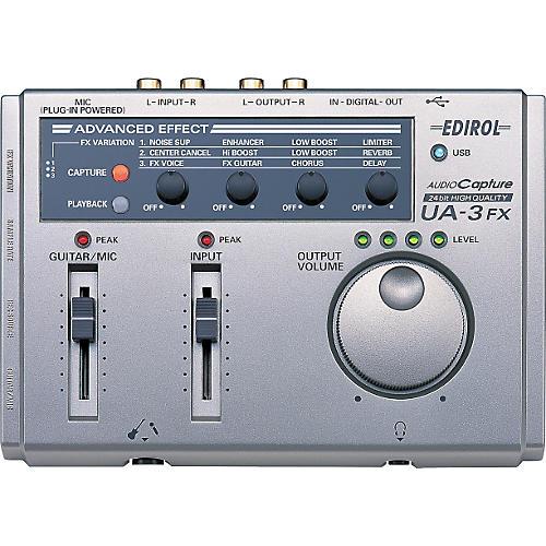 Edirol UA-3FX USB Audio Capture and Playback Device