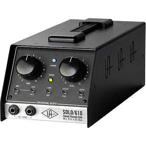 Universal Audio UA-S610 SOLO/610 Classic Vacuum Tube Microphone Preamp and DI Box-thumbnail