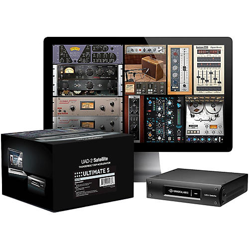 Universal Audio UAD-2 Satellite Thunderbolt - OCTO Ultimate 5