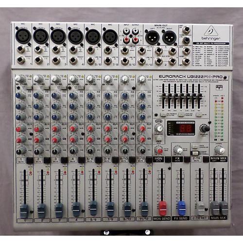 Behringer UB1222FX-Pro Double Bass Drum Pedal-thumbnail