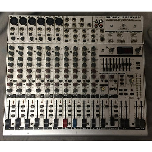 Behringer UB1832FX-Pro Unpowered Mixer