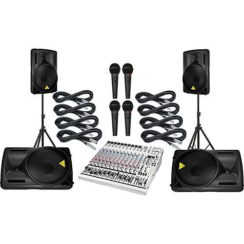 Behringer UB2442FX / B215D Mains & Monitors Package