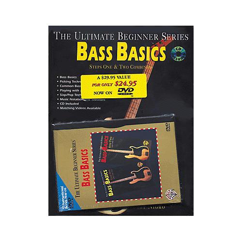 Alfred UBS Rock Bass Basics MegaPak (Book/DVD/CD)