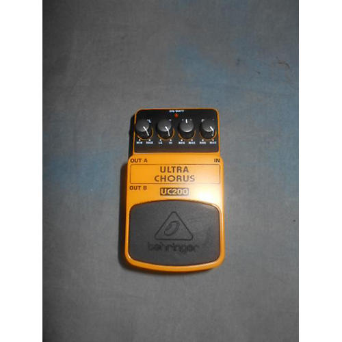 Behringer UC200 Stereo Chorus Effect Pedal-thumbnail