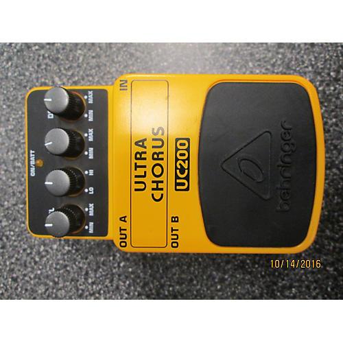 Behringer UC200 Stereo Chorus Effect Pedal-thumbnail