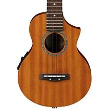 Ibanez UEW5E All Mahogany Concert Acoustic-Electric Ukulele Level 1 Natural