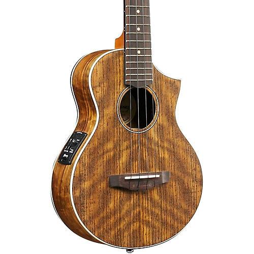 Ibanez UEWT14E Exotic Wood Tenor Acoustic-Electric Ukulele-thumbnail