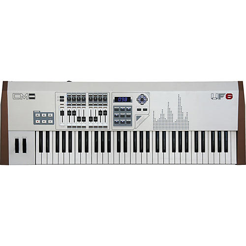 CME UF-6MLan Silver Edition Keyboard Controller-thumbnail