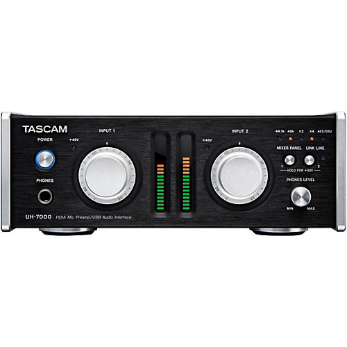 Tascam UH-7000 High Resolution Interface and Stand Alone Microphone Preamp-thumbnail