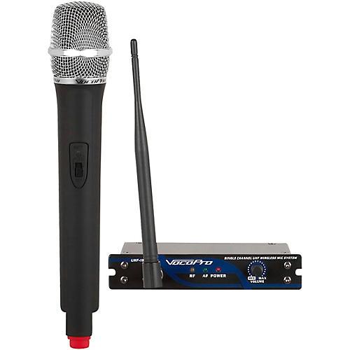 vocopro uhf 18 single channel uhf wireless mic system band 9 guitar center. Black Bedroom Furniture Sets. Home Design Ideas