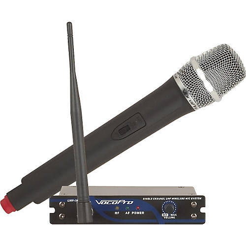 VocoPro UHF-18 Single Channel UHF Wireless Mic System-thumbnail