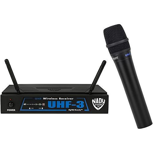 Nady UHF-3 Handheld Wireless System MU2/480.55