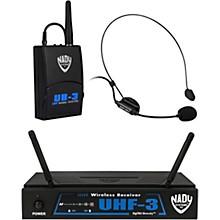 Nady UHF-3 Headset HM-3 Wireless System