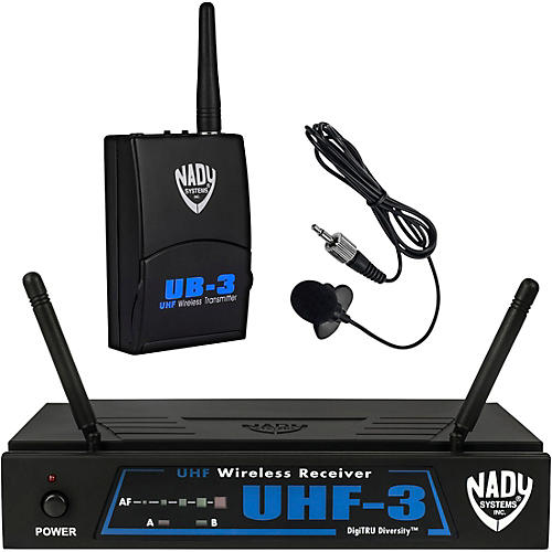 Nady UHF-3 Lavalier Wireless System-thumbnail