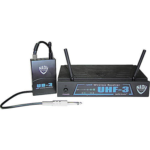 Nady UHF-3GT-6 Guitar Wireless System-thumbnail