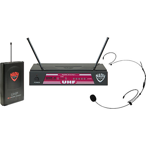 Nady UHF-4 LT/HM-20U (115) Headset Wireless System-thumbnail