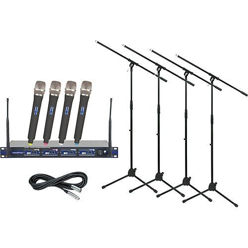 VocoPro UHF-5800 Handheld Wireless Package (Channel 3)