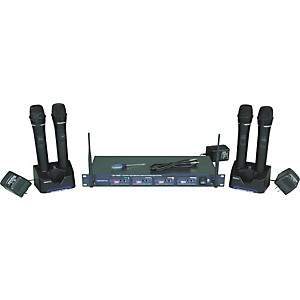 VocoPro UHF-5805 Plus Rechargeable Wireless System with Microphone Bag