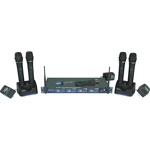 Vocopro UHF-5805 Plus Rechargeable Wireless System with Mic Bag-thumbnail