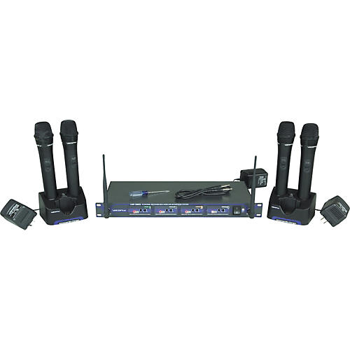 VocoPro UHF-5805 Rechargeable Wireless Microphone System-thumbnail