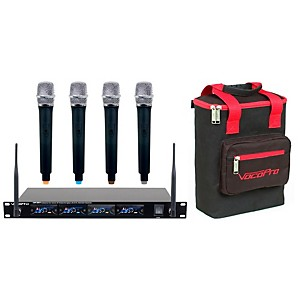 Click here to buy VocoPro UHF-5816PLUS 4-Channel Wireless System by VocoPro.