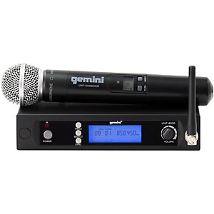 Gemini UHF-6100M Single Handheld Wireless System by Gemini