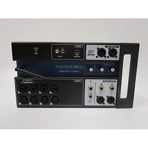 used soundcraft ui12 digital mixer guitar center. Black Bedroom Furniture Sets. Home Design Ideas