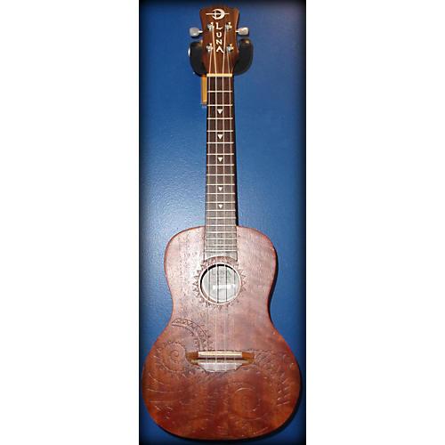 Luna Guitars UKE TC MAH Ukulele-thumbnail