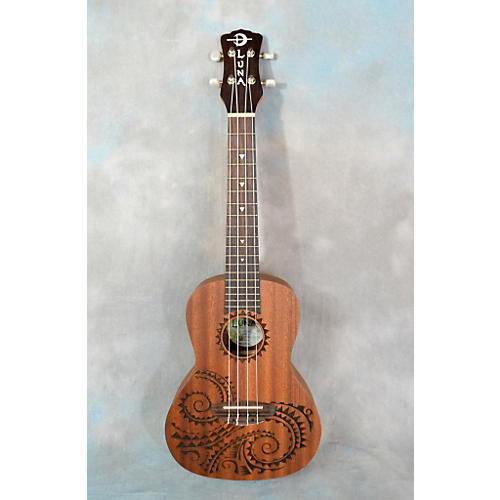 Luna Guitars UKE TC MAH Ukulele