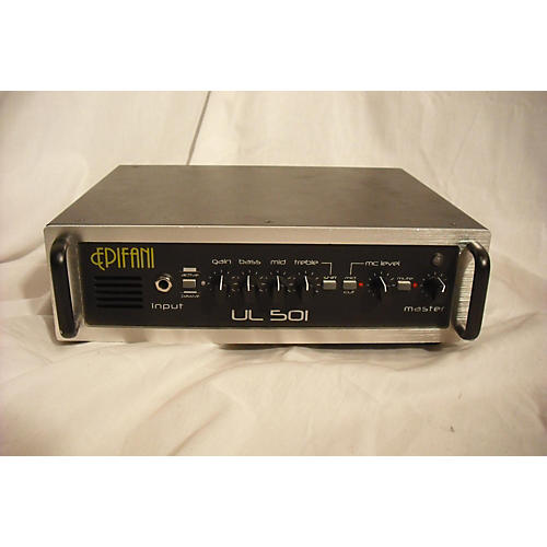 Epifani UL501 850W Hybrid Bass Amp Head