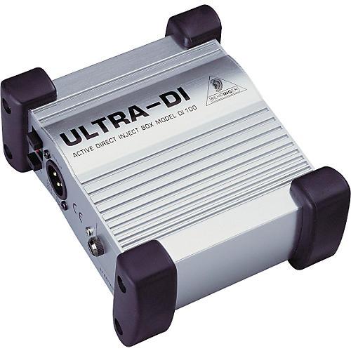 Behringer ULTRA-DI DI100 Direct Box-thumbnail