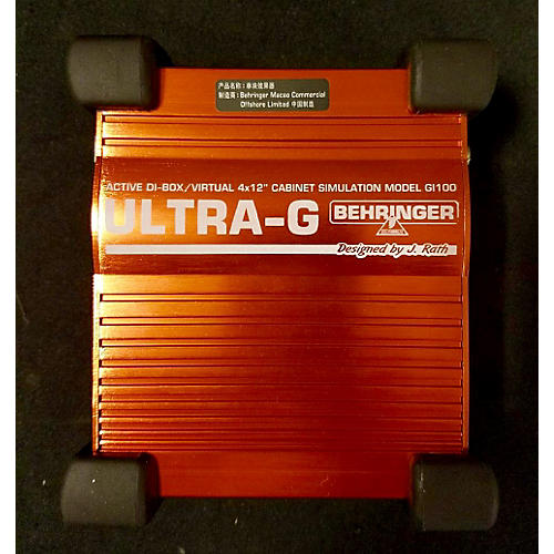 Behringer ULTRA-G Direct Box