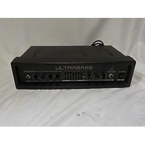 Pre-owned Behringer ULTRABASS BXD3000H Bass Amp Head