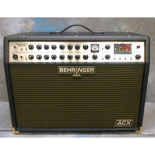 Behringer ULTRACOUSTIC ACX1000 Guitar Combo Amp