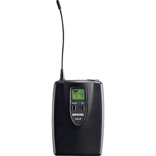 Shure ULX-1 Bodypack Transmitter with 4-Pin-thumbnail