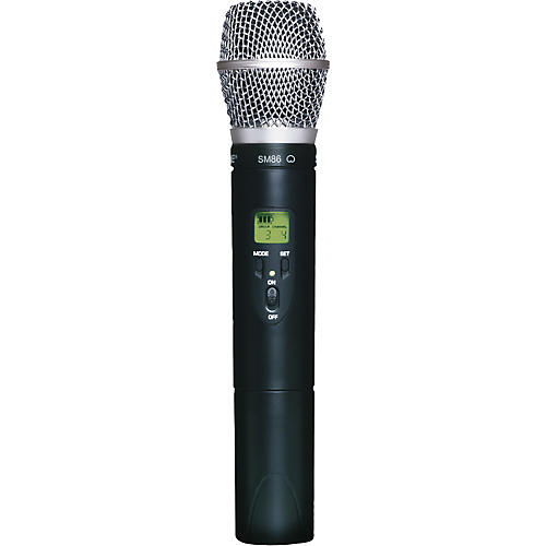 Shure ULX2/SM86 Wireless Handheld Transmitter Microphone