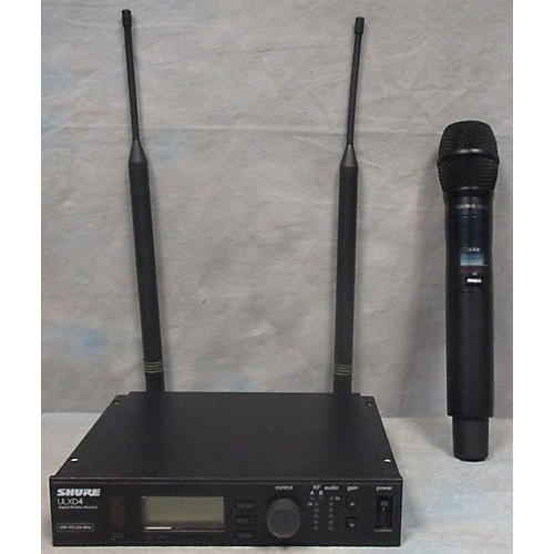 Shure ULXD4/KSM9 WIRELESS MICROPHONE SYSTEM Handheld Wireless System-thumbnail