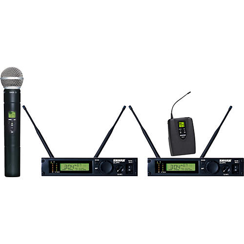 Shure ULXP124/58 Dual Channel Mixed Wireless System M1