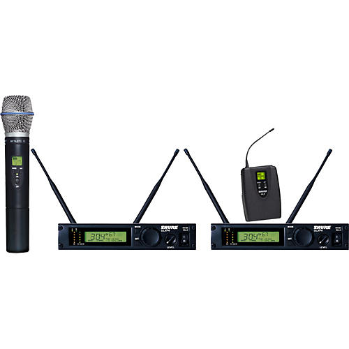 Shure ULXP124/BETA87C Dual Channel Mixed Wireless System-thumbnail