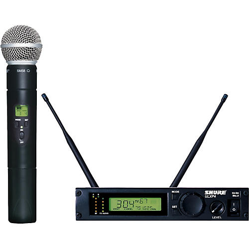 Shure ULXP24/58 Handheld Wireless Microphone System M1