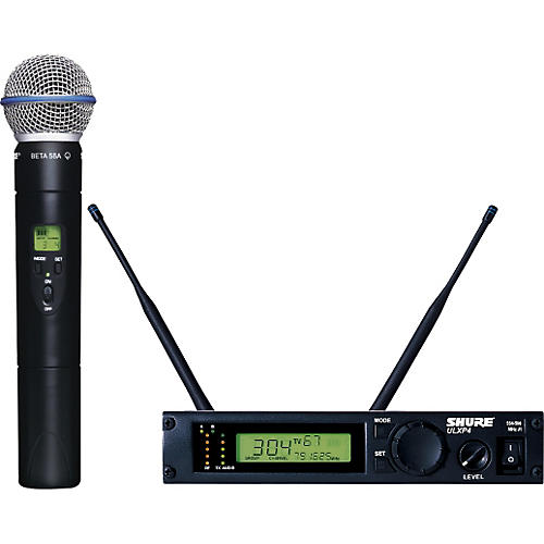 Shure ULXP24/BETA58 Handheld Wireless Microphone System-thumbnail