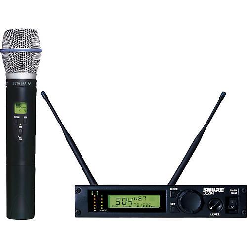 shure ulxp24 beta87a handheld wireless microphone system guitar center. Black Bedroom Furniture Sets. Home Design Ideas