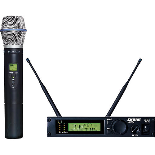 Shure ULXP24/BETA87C Handheld Wireless Microphone System