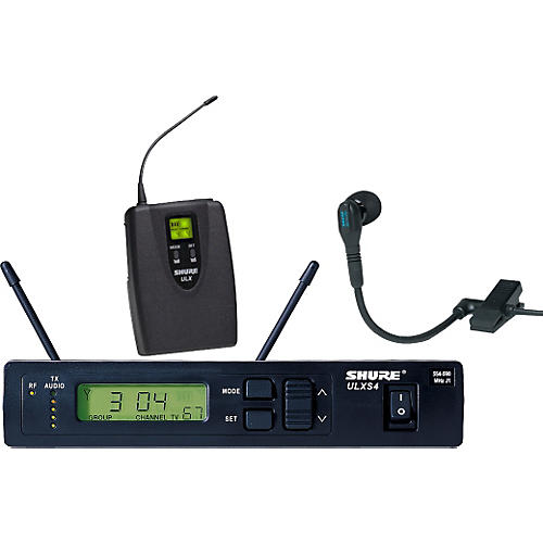 Shure ULXS14/98 Clip-On Wireless Instrument System M1