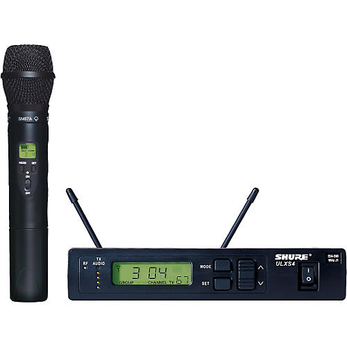 Shure ULXS24/87 Handheld Wireless System Channel