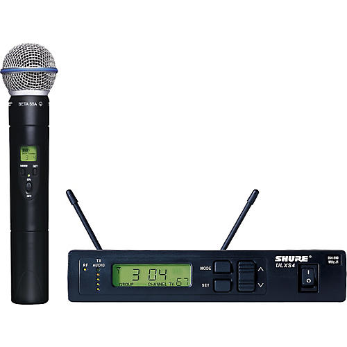 Shure ULXS24/BETA58 Handheld Wireless Microphone System-thumbnail